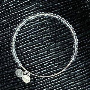 ALEX AND ANI White Beads Bracelet NWOT CHIC RARE